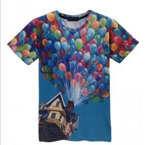 Up Movie unisex tee shirt sz M